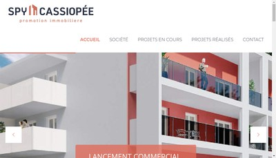 Site internet de Spy Cassiopee