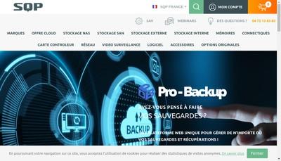 Site internet de Sqp
