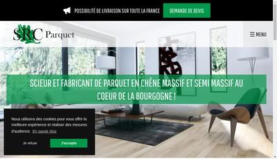 Site internet de SRC Parquet