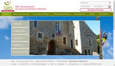 Site internet de Srd