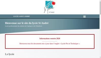 Site internet de LEP Prive Saint-Andre