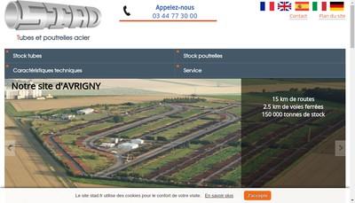 Site internet de SA Stad