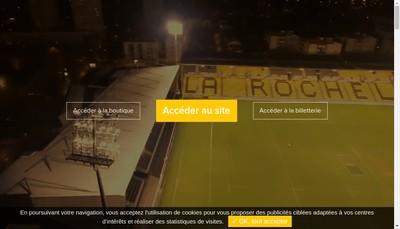 Site internet de Stade Rochelais Restaurant