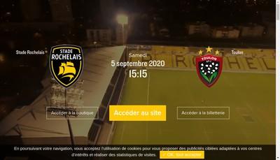 Site internet de Stade Rochelais