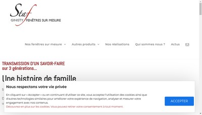 Site internet de Staf