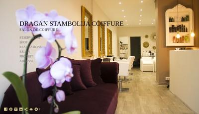 Site internet de Dragan Stambolija Coiffure