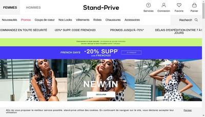 Site internet de Stand-prive.com