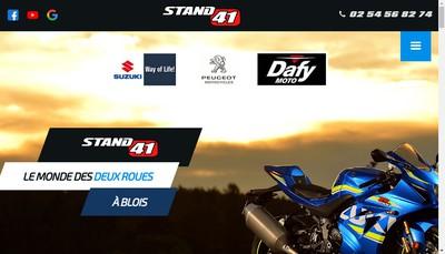 Site internet de Stand 41