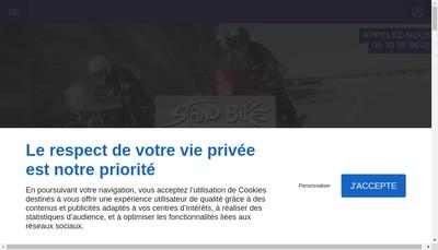 Site internet de Stand Bike