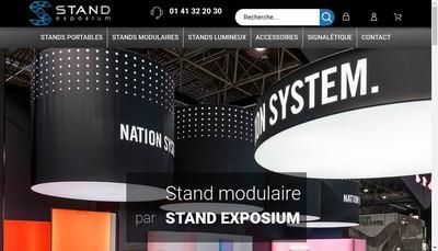 Site internet de Stand Exposium