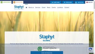Site internet de Staphyt