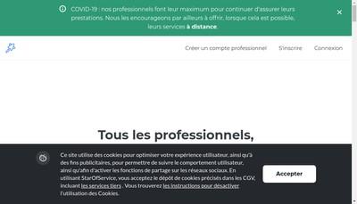 Site internet de Starofservice