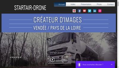 Site internet de Startair