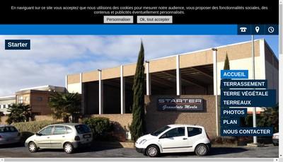Site internet de Starter Societe Transport Auxiliaire Routier et Terrassement