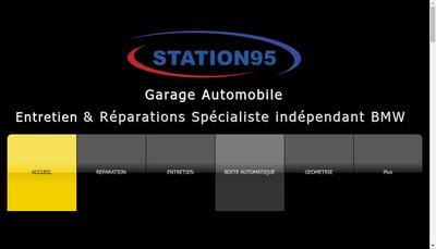 Site internet de Station95
