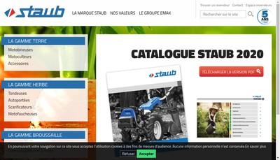 Site internet de Staub