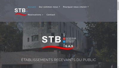 Site internet de STB
