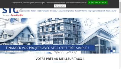 Site internet de Services Tous Credits