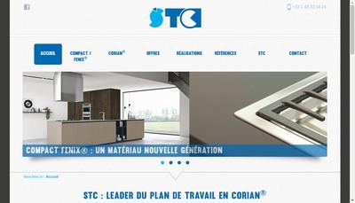 Site internet de STC Paris