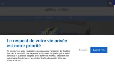 Site internet de Societe Nouvelle Apac - l'Atelier du Camping