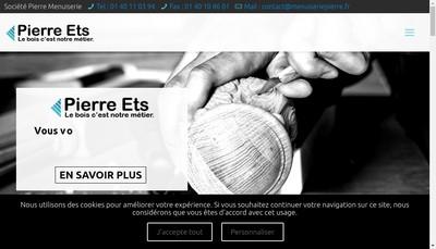 Site internet de Societe des Etablissements Pierre