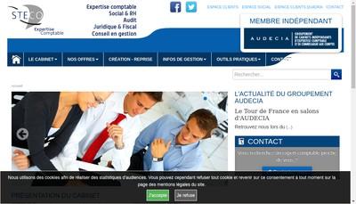 Site internet de Steco