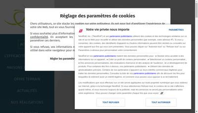 Site internet de Sn Lefort