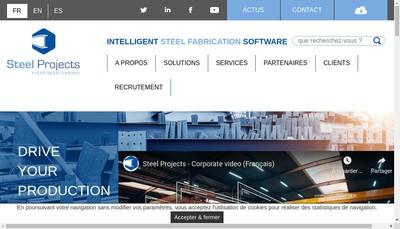 Site internet de Steel Projects France