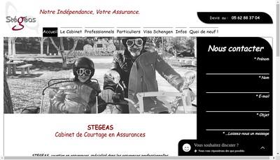 Site internet de Stegeas