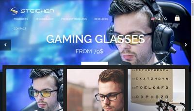 Site internet de Steichen Optique
