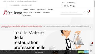 Site internet de SAS Stellinox
