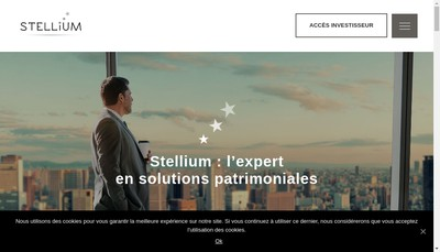 Site internet de Groupe Omnium Finance