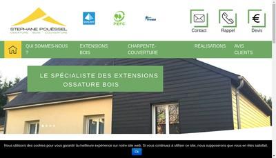 Site internet de SARL Stephane Pouessel