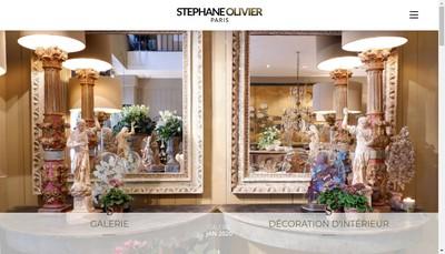Site internet de Stephane Olivier