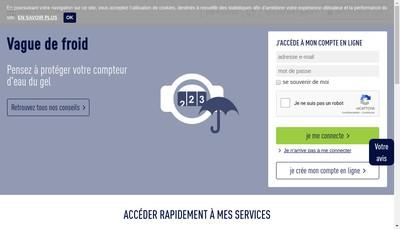 Site internet de Societe Stephanoise des Eaux