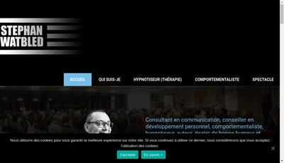 Site internet de Stephan Watbled