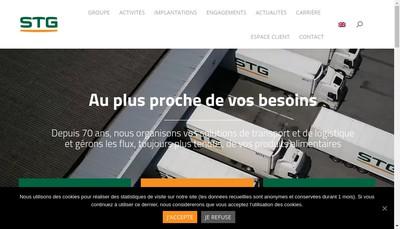 Site internet de Transports G Gautier