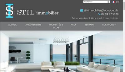Site internet de Stil Immobilier