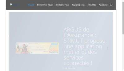 Site internet de Stimut Informatique