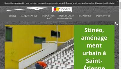 Site internet de Stineo