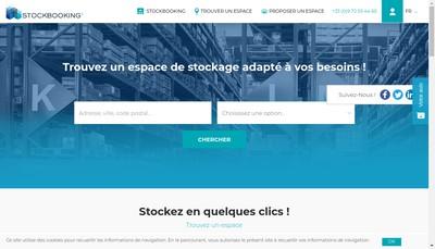 Site internet de Stockbooking