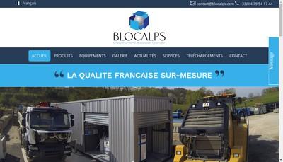 Site internet de Blocalps