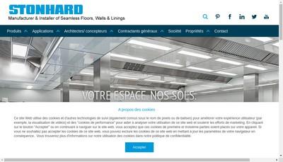 Site internet de Stonhard France