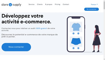 Site internet de Store And Supply
