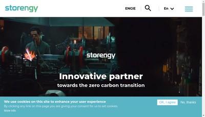 Site internet de Storengy France