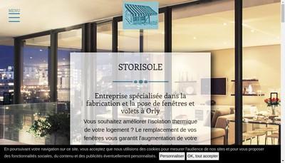Site internet de Storisole
