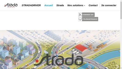 Site internet de Strada