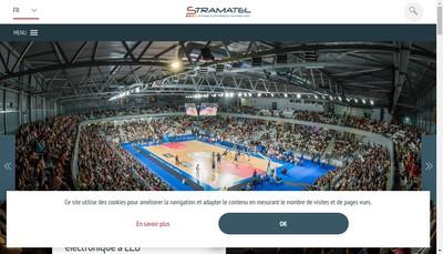 Site internet de Stramatel