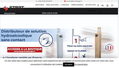Site internet de Strat Design