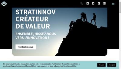 Site internet de Stratinnov